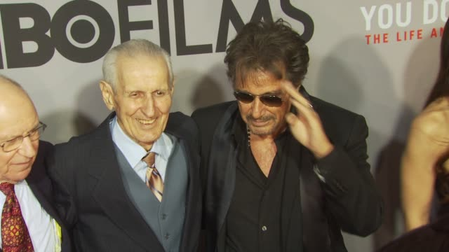 Al Pacino Dr Jack Kevorkian and guests at the HBO Film's 'You Don't Know Jack' New York Premiere at New York NY