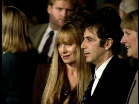 Al Pacino is photographed on the red carpet