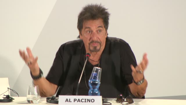 INTERVIEW Al Pacino on dealing with depression and the joy of having children at 'The Humbling' Press Conference 71st Venice International Film...