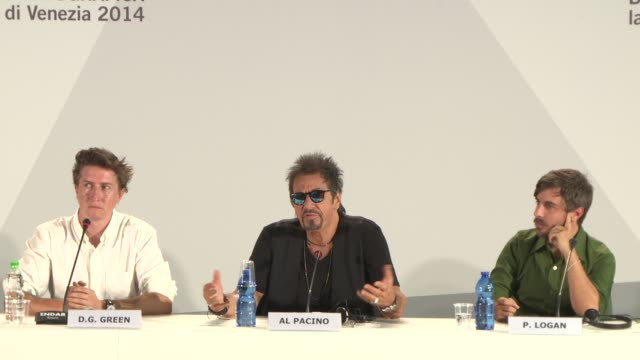 INTERVIEW Al Pacino on the Actors Studio his experience with the guild why it's important to him at 'Manglehorn' Press Conference 71st Venice...