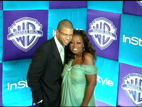 Al Reynolds and Star Jones at the In Style Magazine and Warner Brothers Studios 6th Annual Golden Globe Party at the Beverly Hilton in Beverly Hills...