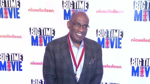 al roker at 'big time movie' starring big time rush original tv movie premiere and nickelodeon meet & greet on 3/8/2012 in new york, ny, united... - al roker stock videos & royalty-free footage