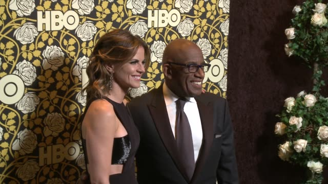 al roker at hbo's post 2016 golden globe awards party at circa 55 restaurant on january 10, 2016 in los angeles, california. - al roker stock videos & royalty-free footage