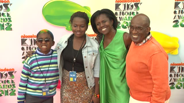 al roker at nickelodeon's 25th annual kids' choice awards on 3/31/2012 in los angeles, ca. - al roker stock videos & royalty-free footage