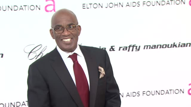 al roker at the 19th annual elton john aids foundation academy awards viewing party at west hollywood ca. - al roker stock videos & royalty-free footage