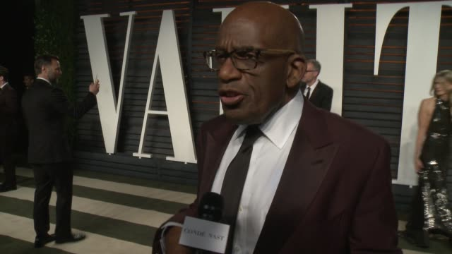 al roker at the 2016 vanity fair oscar party hosted by graydon carter at wallis annenberg center for the performing arts on february 28, 2016 in... - al roker stock videos & royalty-free footage
