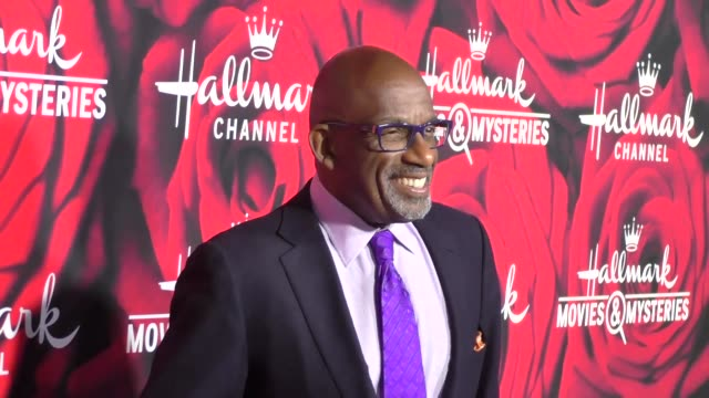 al roker at the hallmark channel and hallmark movies and mysteries winter 2017 tca press tour at tournament house on january 14, 2017 in pasadena,... - al roker stock videos & royalty-free footage