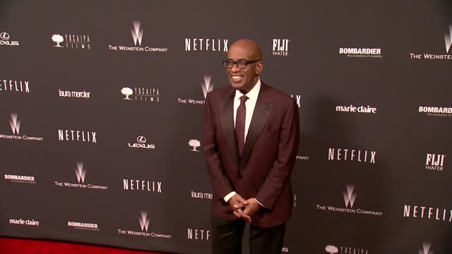 al roker at the weinstein company & netflix 2014 golden globes after party at the beverly hilton hotel on in beverly hills, california. - al roker stock videos & royalty-free footage