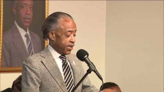 'i've been here before' on nov 12 2016 - al sharpton stock videos & royalty-free footage