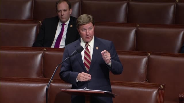 alabama congressman mike rogers argues in debate on an amendment to the fiscal 2020 national defense authorization that an amendment by new york... - legal defense stock videos and b-roll footage