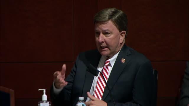 alabama congressman mike rogers asks joint chiefs of staff chairman general mark milley at a house armed services committee hearing on using the... - department of defense stock videos & royalty-free footage