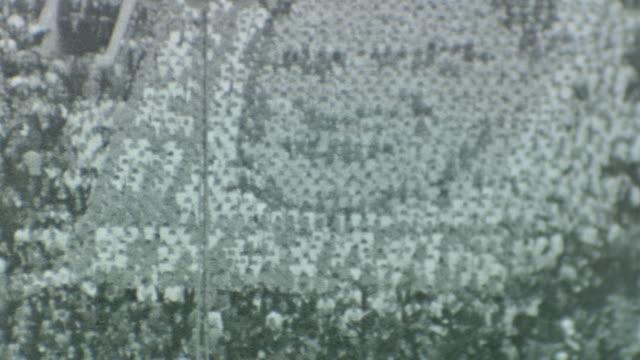 Alabama Crimson Tide Vs Cal Bears at Rose Bowl on January 01 1938 in Pasadena California