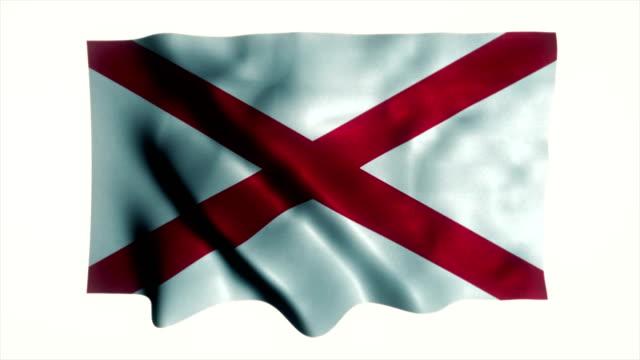 Alabama State Endlos wiederholbar Flagge