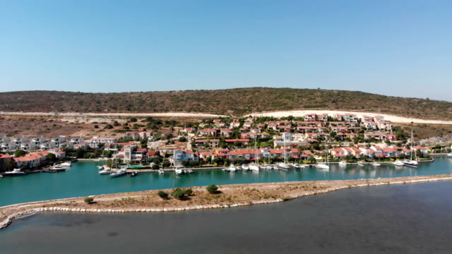 alacati marina - izmir stock videos & royalty-free footage