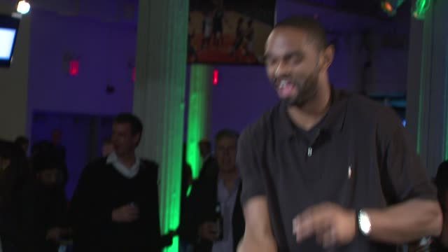 alan anderson at topspin nyc 2013 charity event at the metropolitan pavilion on 11/6/13 in new york ny - alan anderson stock videos and b-roll footage