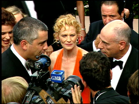 alan arkin at the 1997 emmy awards arrivals at the pasadena civic auditorium in pasadena california on september 14 1997 - pasadena civic auditorium stock videos & royalty-free footage