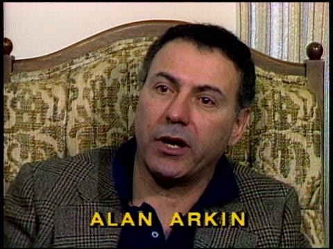 Alan Arkin talks about directing Alan Arkin interview on January 01 1981 in Los Angeles California