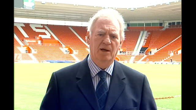 lawrie mcmenemy interview sot - southampton england stock videos & royalty-free footage