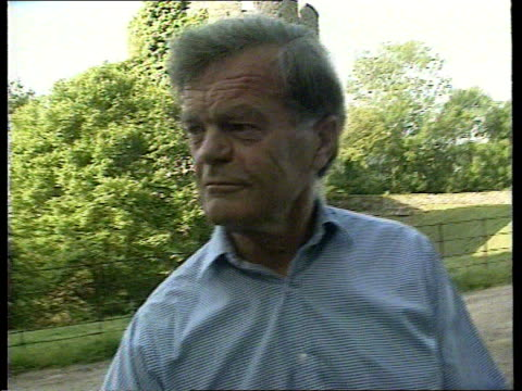 alan clark sex allegations; england kent hythe saltwood castle lms alan clark and wife jane towards with their rottweiler dogs cms alan clark as dog... - suspicion stock videos & royalty-free footage