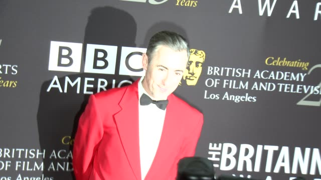 alan cumming at 2012 bafta los angeles britannia awards presented by bbc america on 11/7/12 in los angeles, ca - alan cumming stock videos & royalty-free footage