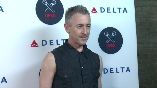 alan cumming at 2nd annual delta open mic with serena williams at arena event space on august 26 2015 in new york city - alan cumming stock videos and b-roll footage