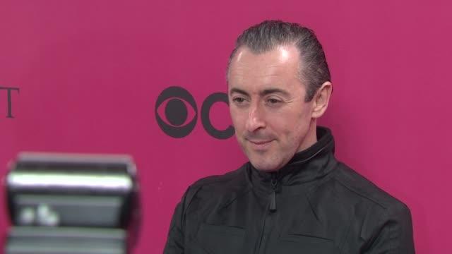 alan cumming at the 2010 victoria's secret fashion show - pink carpet at new york ny. - alan cumming stock videos & royalty-free footage
