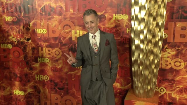 alan cumming at the 2015 hbo emmy after party at the plaza at the pacific design center on september 20 2015 in los angeles california - alan cumming stock videos and b-roll footage
