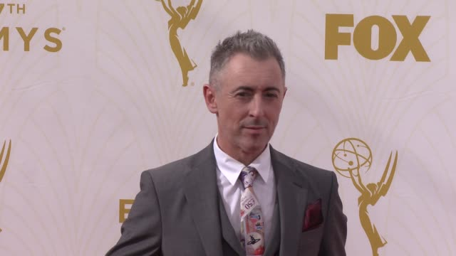 alan cumming at the 67th annual primetime emmy awards at microsoft theater on september 20 2015 in los angeles california - alan cumming stock videos and b-roll footage