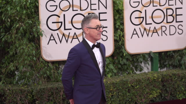 alan cumming at the 73rd annual golden globe awards arrivals at the beverly hilton hotel on january 10 2016 in beverly hills california 4k - alan cumming stock videos and b-roll footage