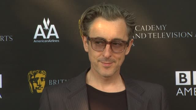 alan cumming at the 9th annual bafta los angeles tv tea party at beverly hills ca. - alan cumming stock videos & royalty-free footage