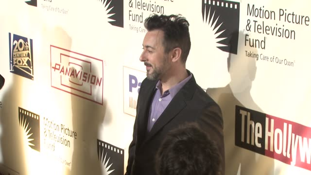 alan cumming at the 'a fine romance' to benefit the motion picture television fund at los angeles ca - motion picture & television fund stock videos & royalty-free footage