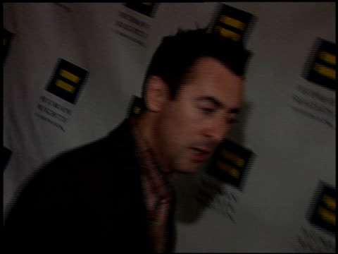 alan cumming at the human rights campaign gala at the beverly hilton in beverly hills california on june 18 2005 - alan cumming stock videos and b-roll footage