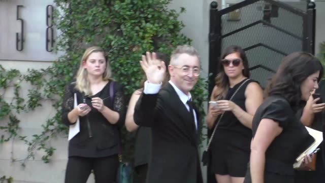 alan cumming at the television industry advocacy awards at sunset tower hotel in west hollywood at celebrity sightings in los angeles on september... - alan cumming stock videos & royalty-free footage