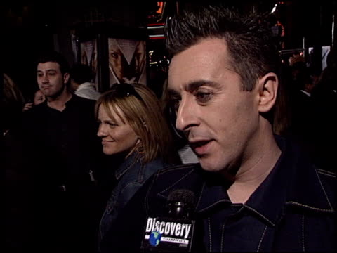 alan cumming at the 'x2 xmen united' premiere at grauman's chinese theatre in hollywood california on april 28 2003 - alan cumming stock videos and b-roll footage