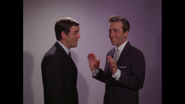 1964 - Alan Freeman and Kent Walton discuss the Four Pennies
