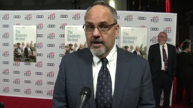 INTERVIEW Alan J Higgins at A Netflix Original Series The Kominsky Method Los Angeles Premiere At AFI Fest at TCL Chinese Theatre on November 10 2018...