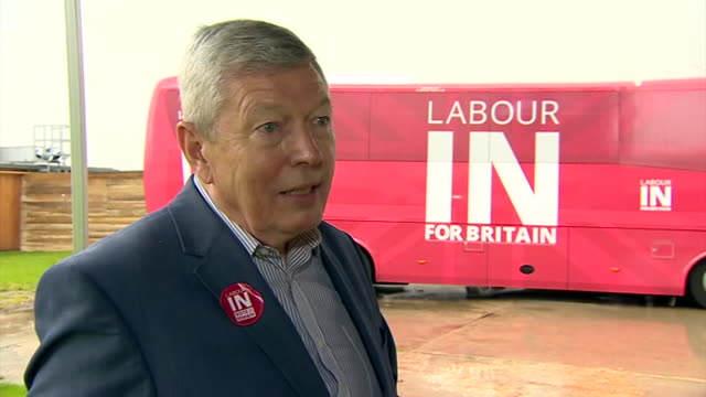 Alan Johnson talking about Iain Duncan Smith at a Labour In for Britain rally