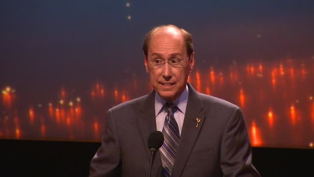 speech alan perris introduces presenters and nominations at 65th primetime emmy awards nominations announcement speech alan perris introduces... - emmy awards stock videos and b-roll footage