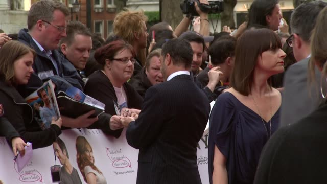 alan poul at the the back up plan premiere uk at london england - neckwear stock videos and b-roll footage