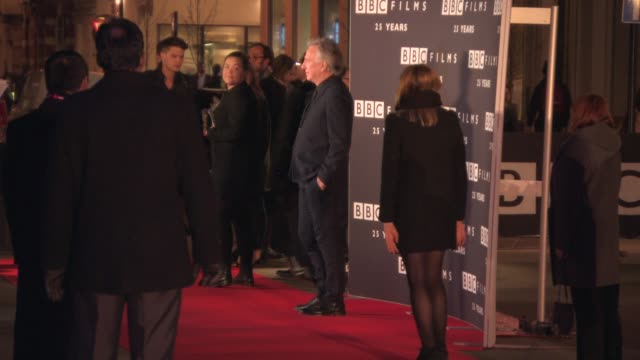 Alan Rickman at BBC Films 25th Anniversary Reception at BBC Radio Theatre on March 25 2015 in London England