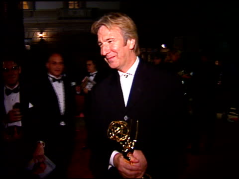 Alan Rickman at the 1996 Emmy Awards Post on September 8 1996
