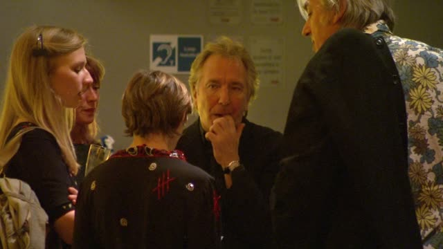 Alan Rickman at the London Film Festival Rachel Getting Married UK Premiere at London