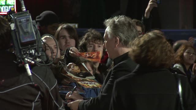 Alan Rickman at the World Premiere of Gambit Empire Leicester Square London