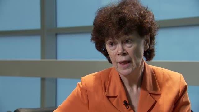 Maureen Paton interview ENGLAND London INT Maureen Paton interview SOT