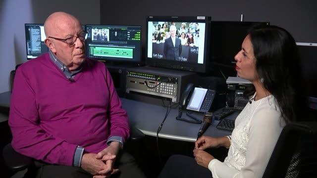 alan rickman dies aged 69; richard wilson interview sot - アラン・リックマン点の映像素材/bロール