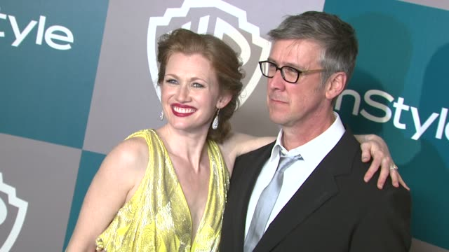 alan ruck at the 13th annual warner bros and instyle golden globe afterparty in beverly hills ca on 1/15/12 - warner bros stock videos & royalty-free footage