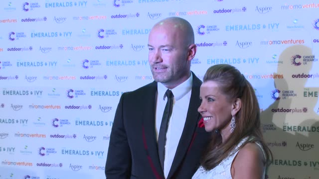 Alan Shearer at Emeralds And Ivy Ball at Old Billingsgate Market on November 30 2013 in London England