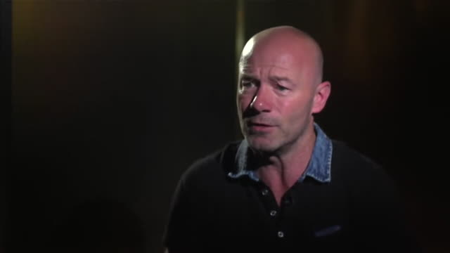 alan shearer saying you get a feel for the tournament the further you go and that he hopes the momentum will carry england through to the 2018 world... - final round stock videos & royalty-free footage