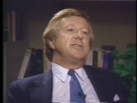 alan shepard remembers the presidency of john f. kennedy. - alan b. shepard jr stock videos & royalty-free footage