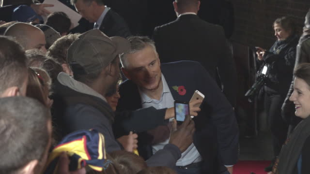 Alan Smith at '89' World Premiere on November 8 2017 in London England